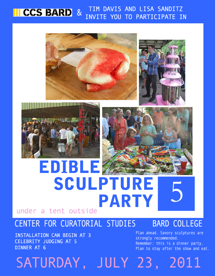 Upstate NY Edible Sculpture Party, July 23 - Upstater