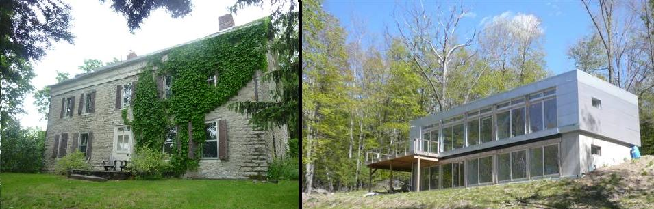 Two fixer uppers from the inbox woodstock ultra modern stone ridge colonial