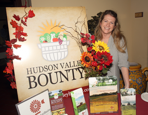 Kristen Roca with The Hudson Valley Bounty