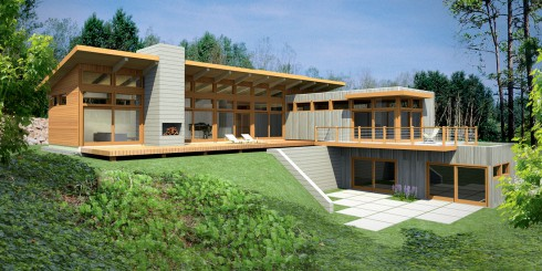 Meet atlantic custom homes in cold spring the hudson for Lindal home plans