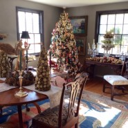 """Our 1939 Colonial is """"decked"""" as we celebrate the Holidays with friends, old and new."""