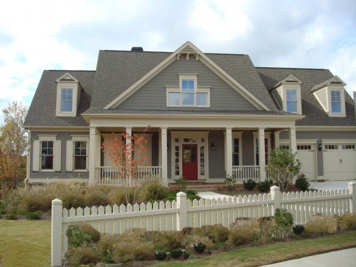 Exterior House Color Trends - Upstater