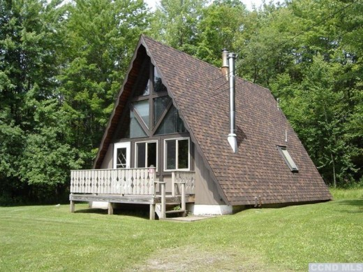 Windham Mountain A-Frame Chalet, $184,500 - Upstater