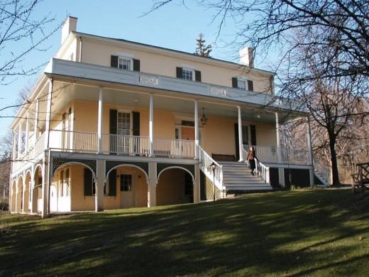 TCNHS Main House courtesy Thomas Cole National Historic Site, Catskill, NY