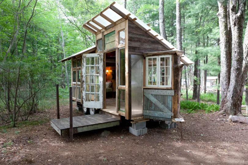 A Taste Of Tiny House Living 20 Minutes From Ellenville