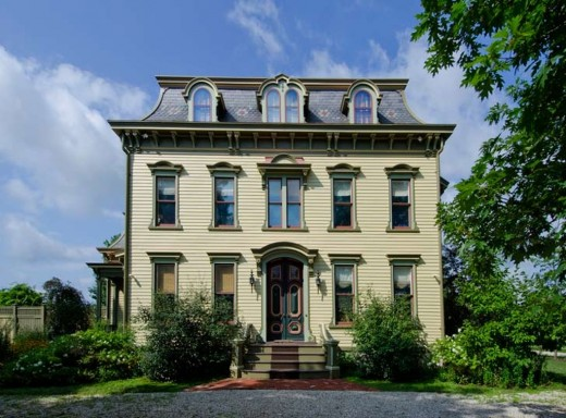 Revel in this luscious second empire victorian in columbia for Historic second empire house plans