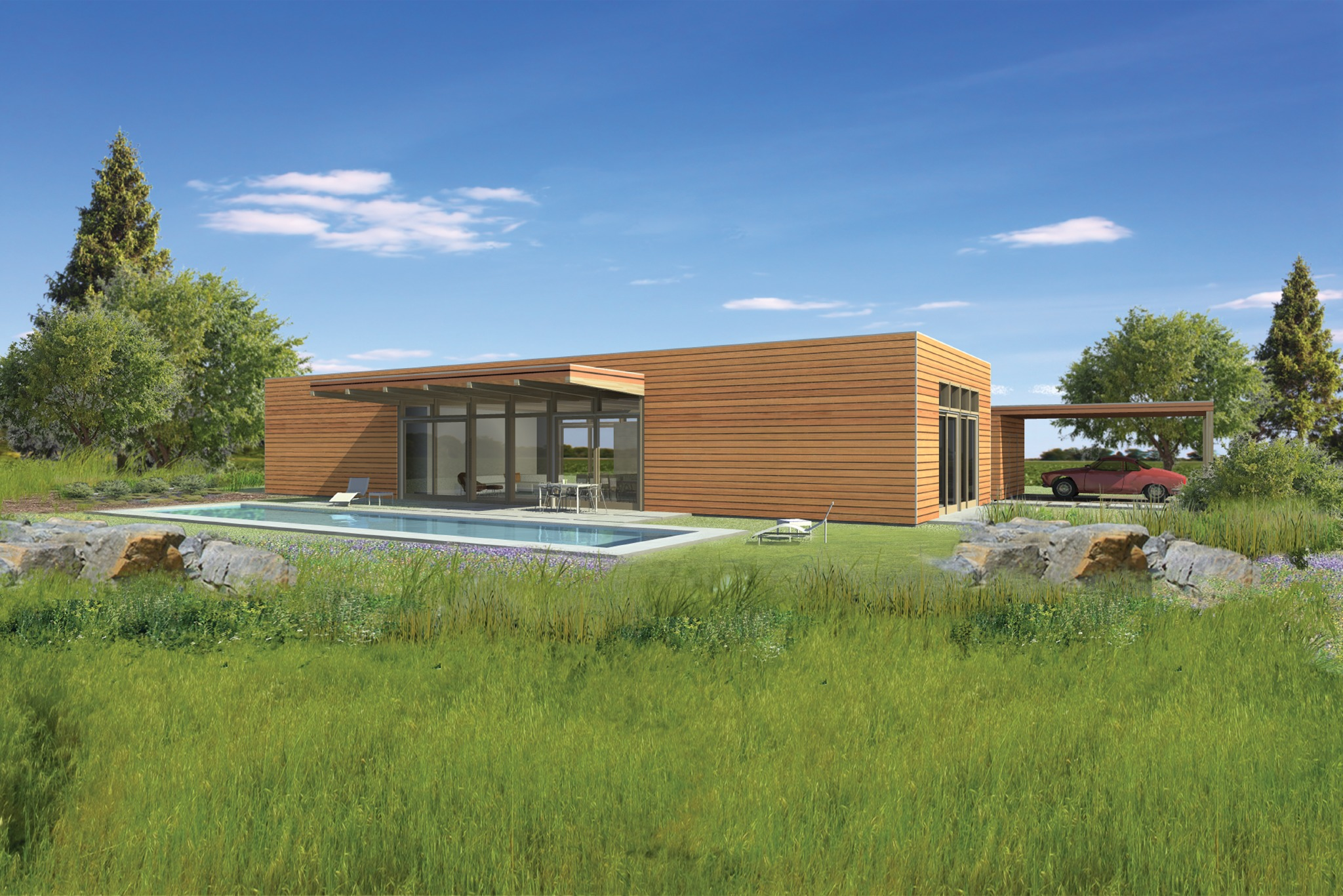 Atlantic custom homes delivers its first lindal architects for Custom homes under 200k