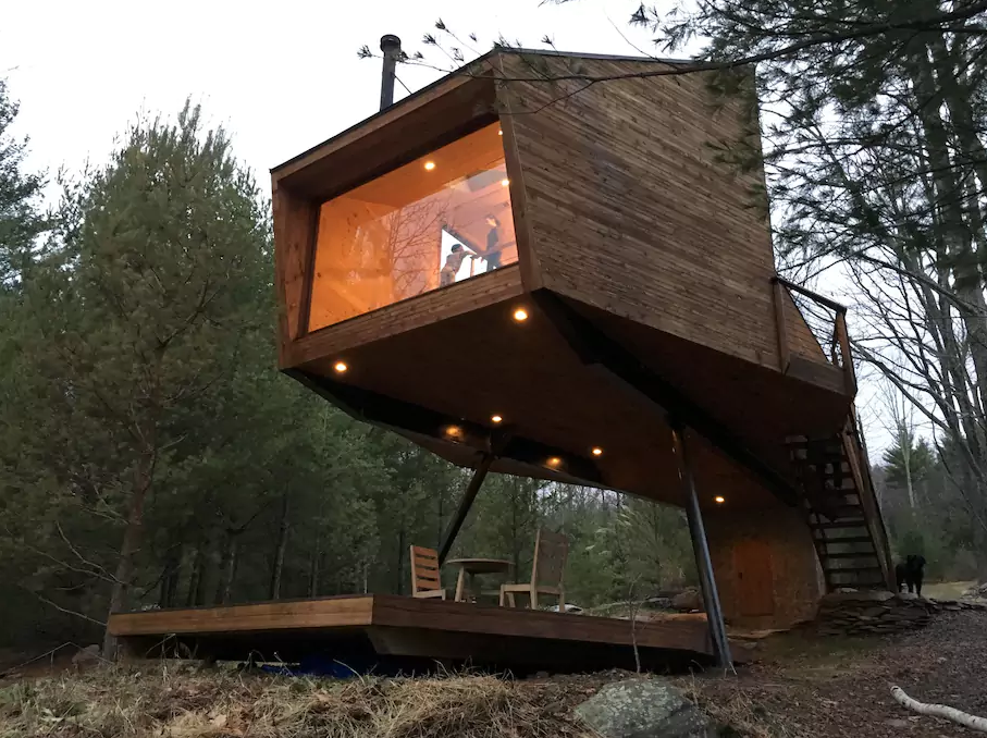 Vacation Rental Crush Of The Week A Treehouse Awaits In