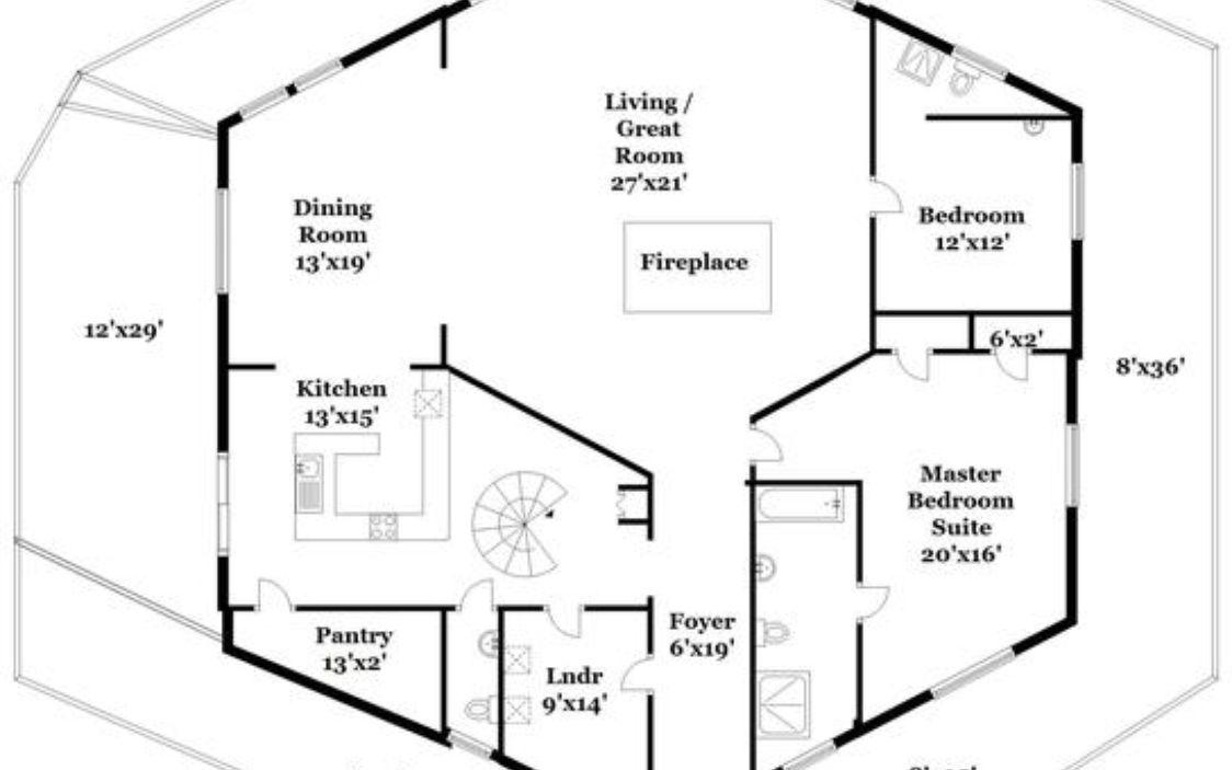 67 Mascord House Plan 22210a The Alan