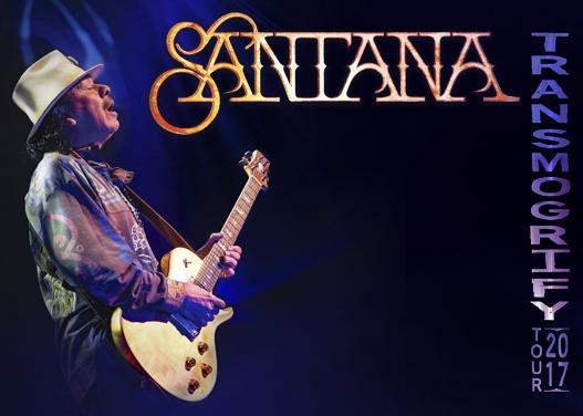 carlos santana transmogrify tour poster