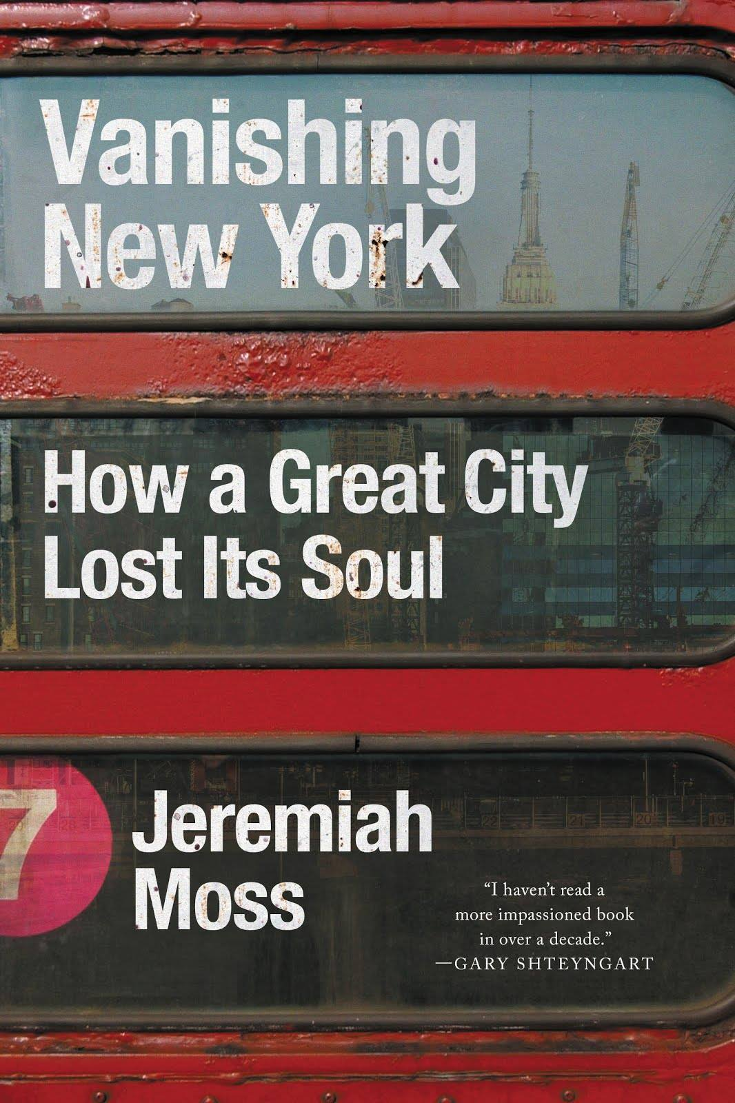 Vanishing New York book cover