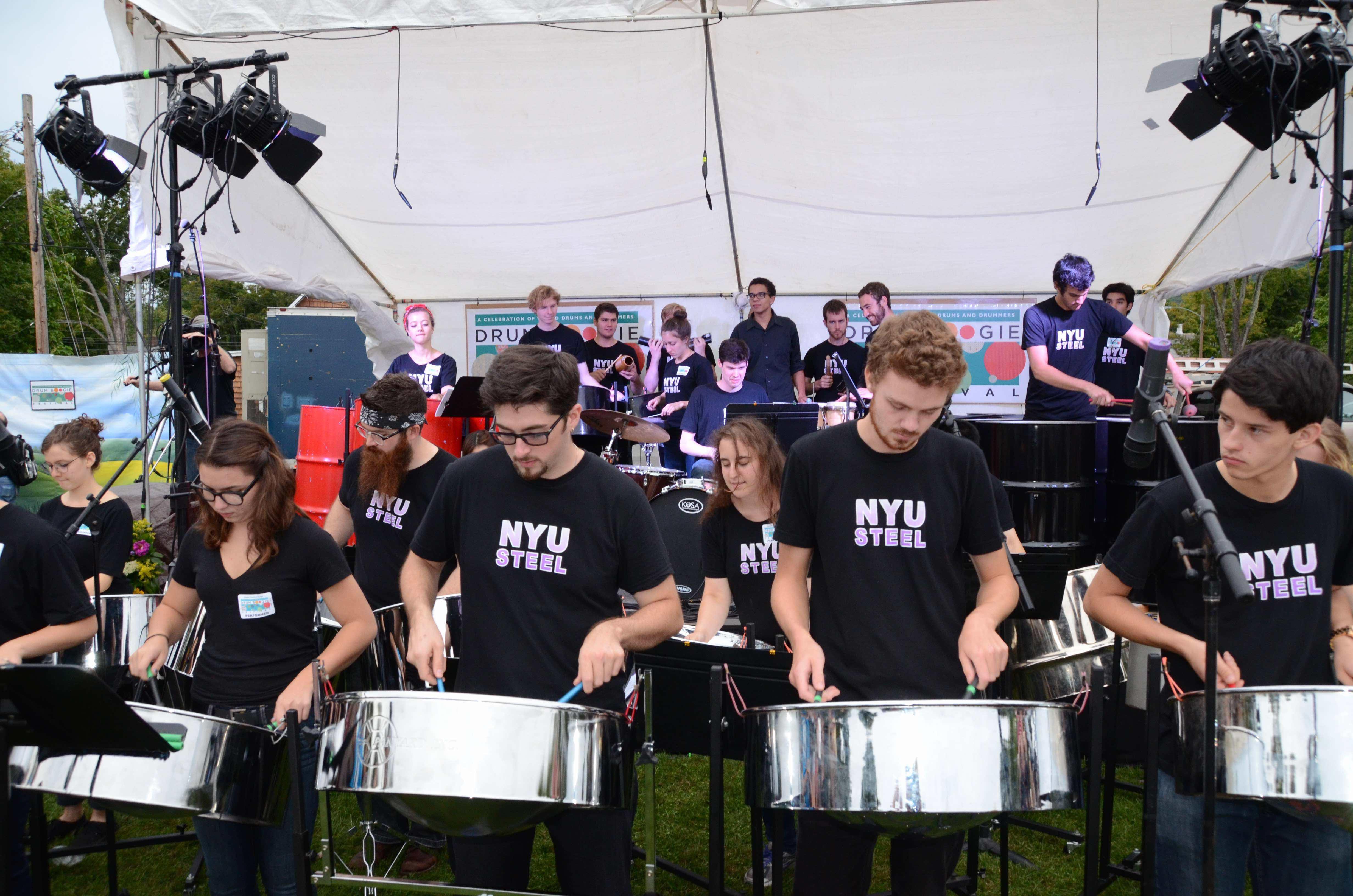 NYU steel drum boogie festival 2017