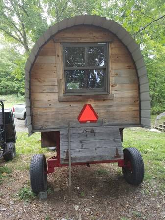 This Handmade Sheep Wagon Would Be Perfect For A Catskills