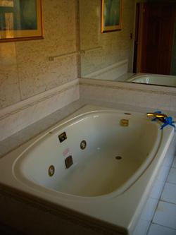 The old Disco spa bath