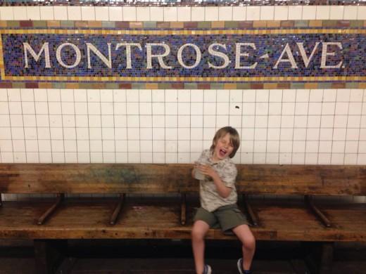 BK to Battery Park. Boy meets Lady Liberty.