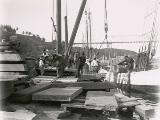 Kingston's bluestone industry — the rock that paved the nation. Courtesy of Friends of Historic Kingston.