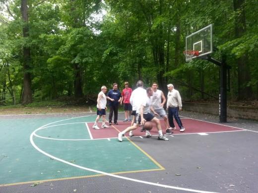 pine lake park basketball game3