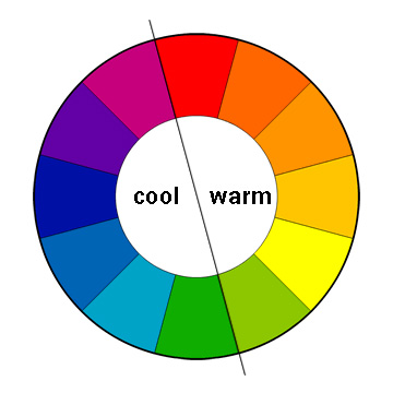 creating punch mixing warm and cool colors upstater