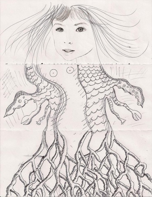 Exquisite Corpse Contributed by Ellie Ohiso