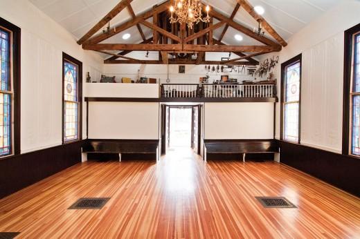 The interior of the Stolen Church of Glenford DEBORAH DEGRAFFENREID