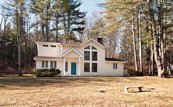 With its spacious front yard, the house is situated on two acres. - DEBORAH DEGRAFFENREID