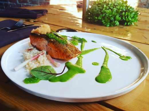 Salmon and Ramps