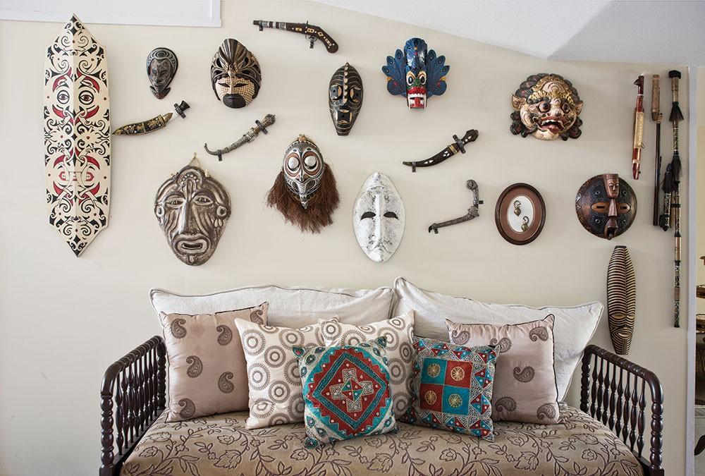 a-wall-of-masks-and-weaponry