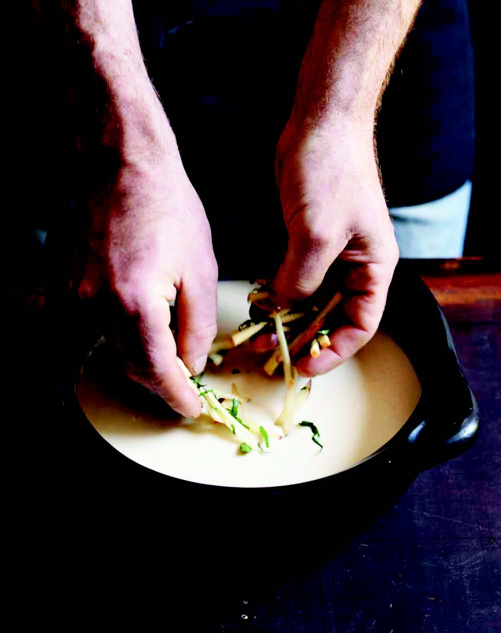 Bryan Calvert's Celery Soup