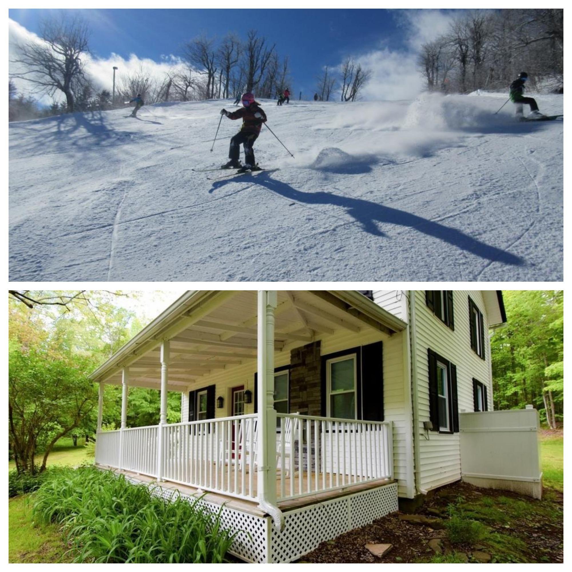 Hudson Valley Catskills slopes