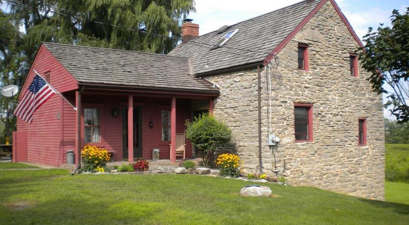 Astounding Hudson Valley 1700S Stone House Greene County Coxsackie Ny Home Remodeling Inspirations Genioncuboardxyz