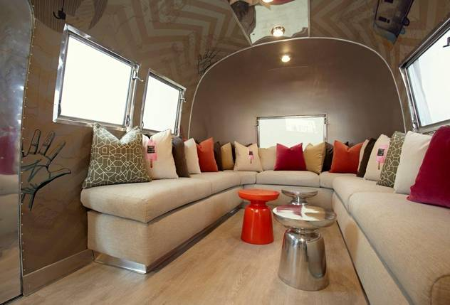 An Airstream Trailer For Sale In Need Of Your Interior Design Skills Best Airstream Interior Design