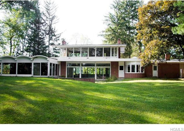 orange county mid century glass home