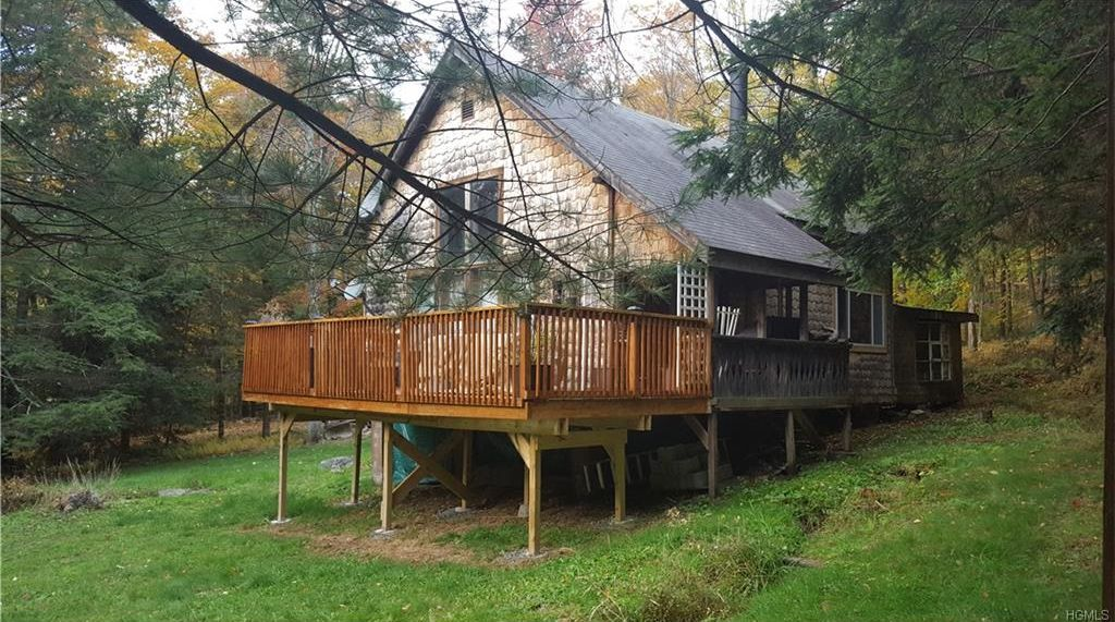 Catskill Mountain cabin for sale on 3 45 acres of land close
