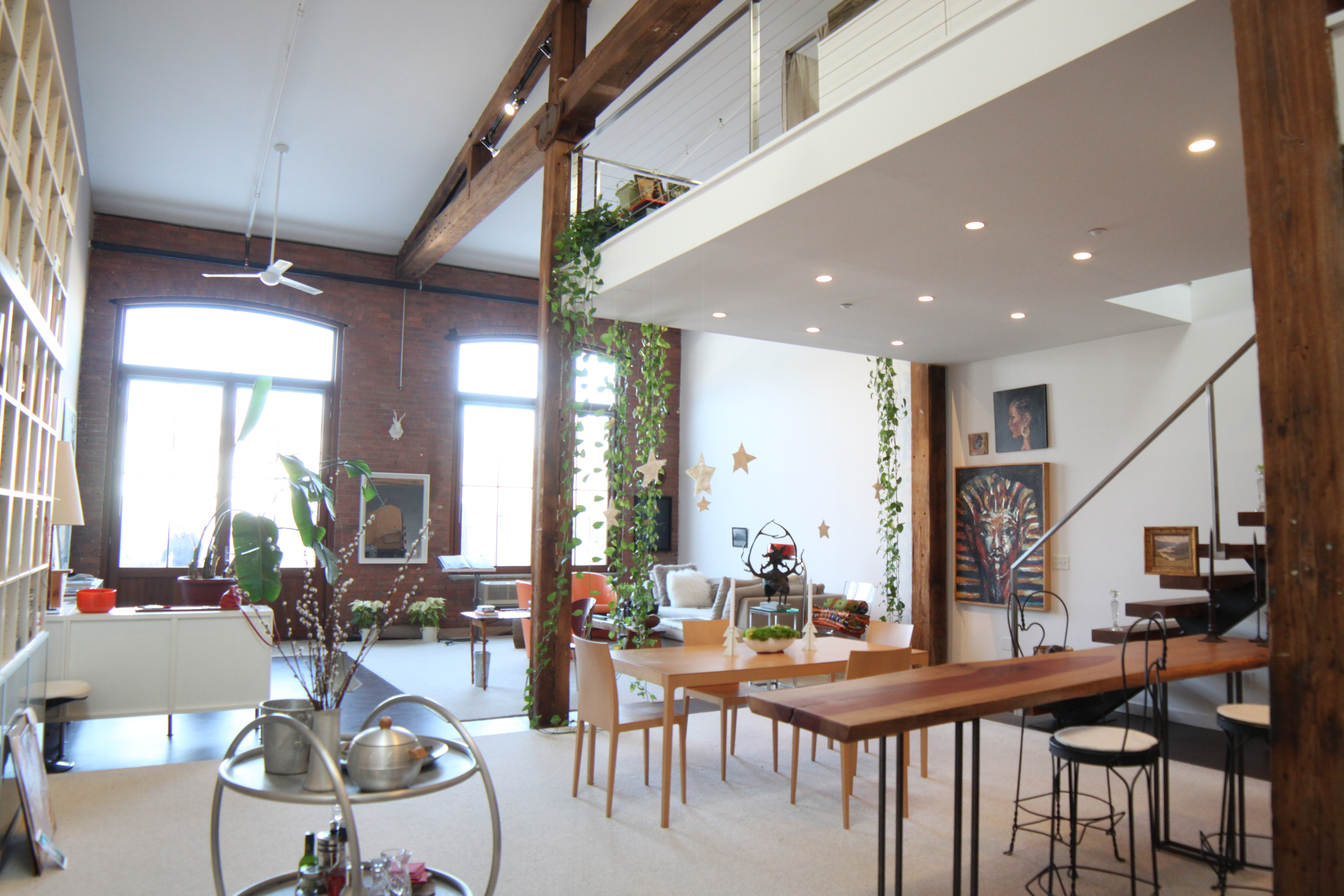 Beacon Ny Loft In Historic Building With 25 Foot Ceilings