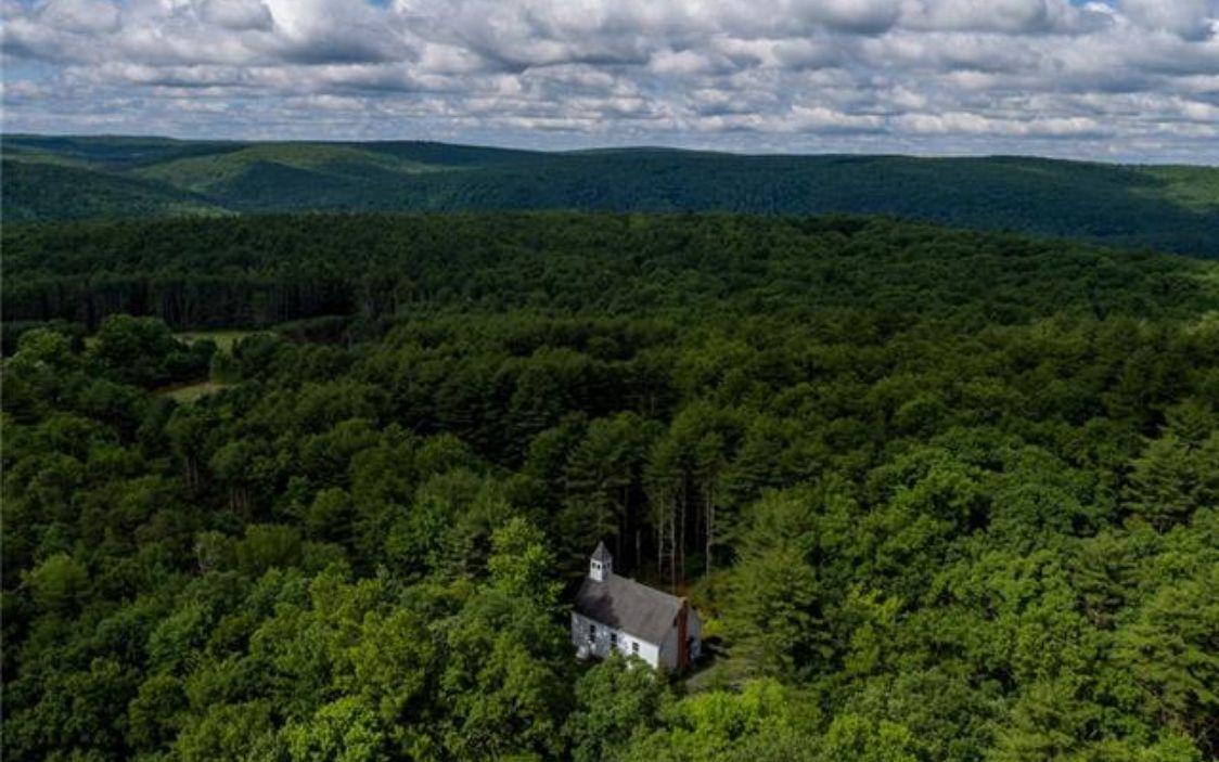 hillside schoolhouse