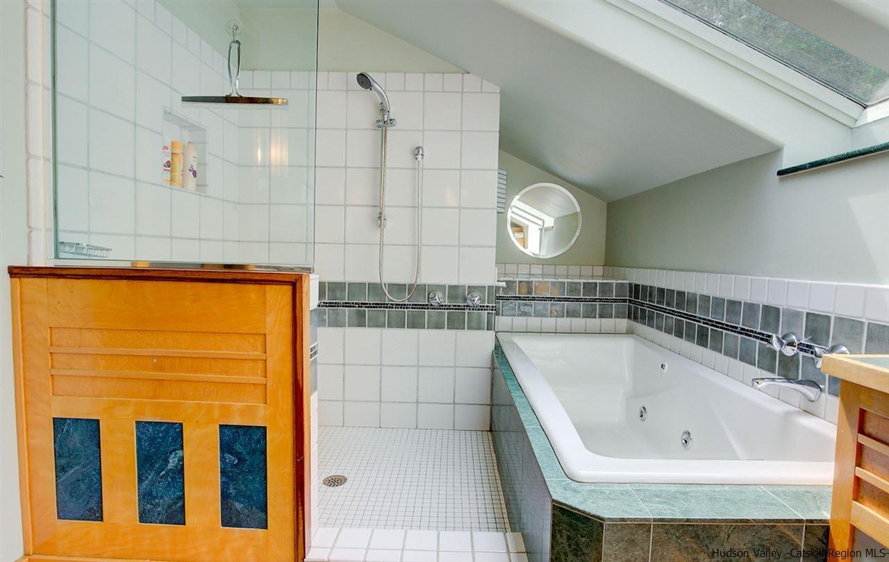 Woodstock spa house with indoor pool sauna gourmet kitchen for Koi pool and sauna