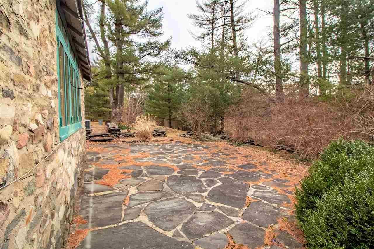 Stone Craftsman House on 42 Acres in Woodstock, NY