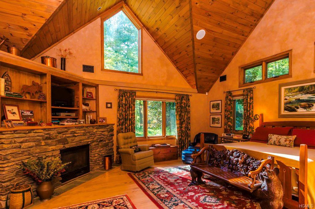 fancy log cabin