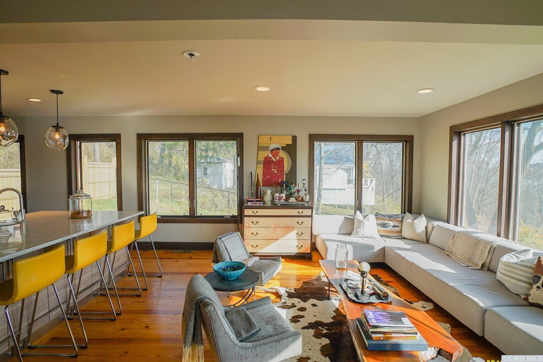 renovated Catskill home