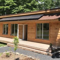 Straw Panel House Exterior