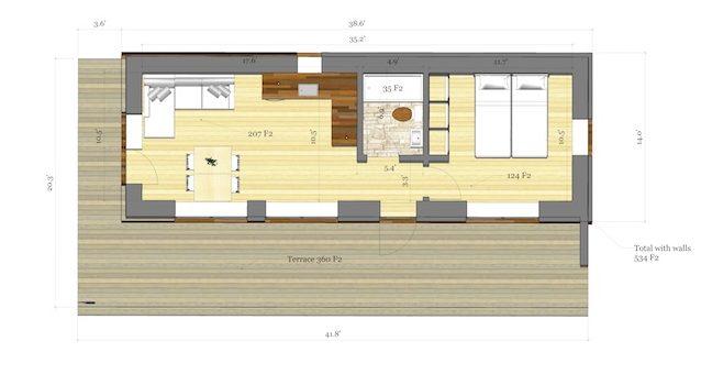 Straw Panel House Floor Plan