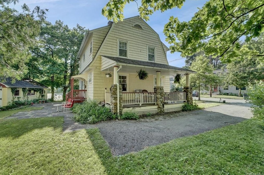 1920s Dutch Colonial House Plus Cottage On Nearly A Half Acre